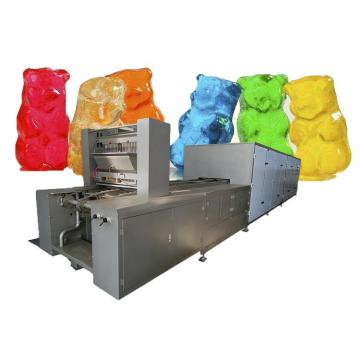 Semi small starch-less jelly bean gummy candy making machine/jelly candy moulding machine candy production line