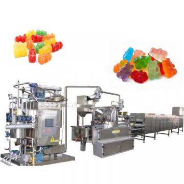 Commercial Gummy Candy Depositing Machine Gelatin halal Confectionery producing making line Gummy Candy Depositing Machine