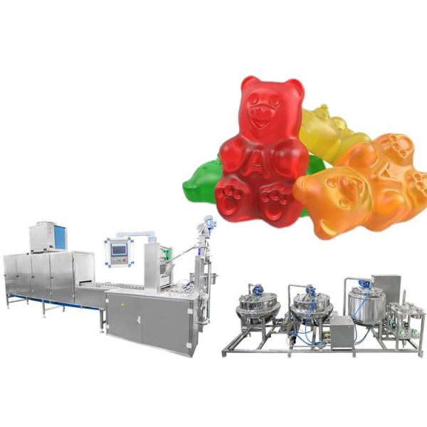 Candy machine maker /Jelly QQ candy making machine /Hot seller gummy bear candy production line #2 image