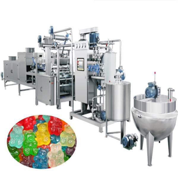 Commercial vitamins Jelly Candy Depositin Line sugar bear gummy make machine make hard and soft candy price from #2 image