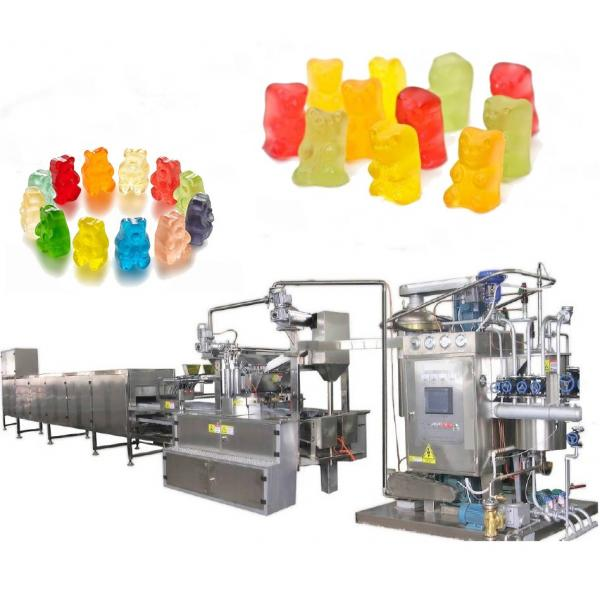 Jelly Candy Depositing Line Gummy Candy Making Machine #3 image