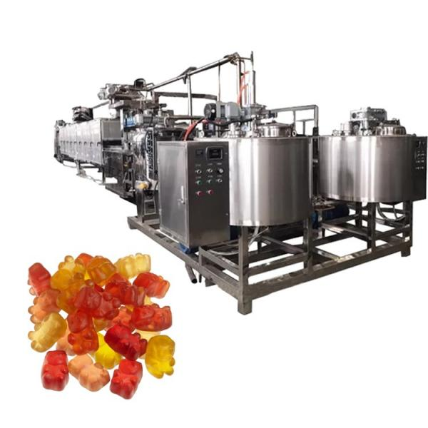High quality gummy bear production line gummy jelly candy candies sweets maker candy making machine #2 image