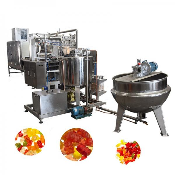 Automatic Jelly Candy Depositing Line Gummy Candy Machine Candy Production Line Manufacturer with Ce ISO9001 (GDQ300) #3 image