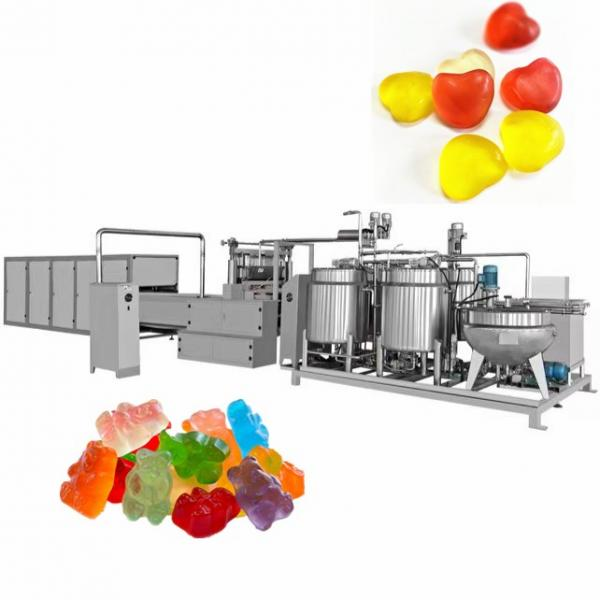 Small capacity CLM 150 automatic gelatin/jelly/pectin/gummy bear candy making machine/soft candy production line in shanghai #2 image