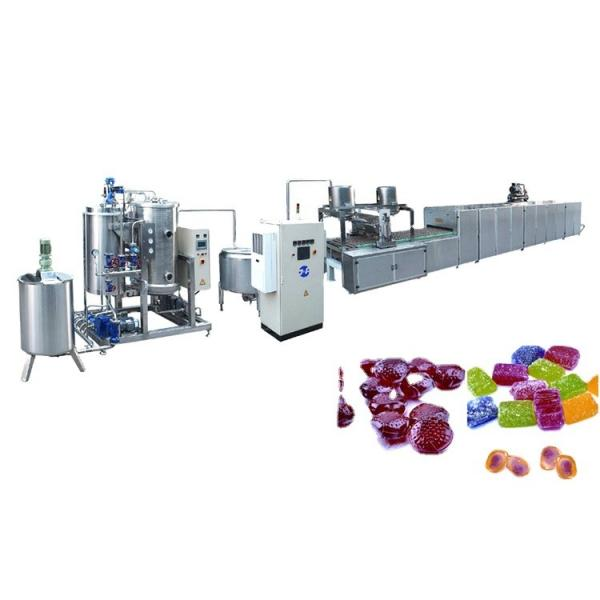 Big capacity for factory Three-depositor Jelly Candy Starch Mould Line gummy candy machine #2 image