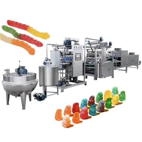 Candy machine maker /Jelly QQ candy making machine /Hot seller gummy bear candy production line #1 image